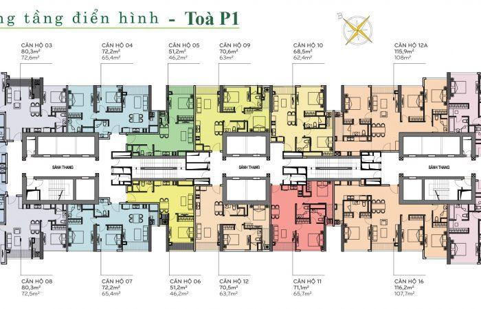 Giỏ hàng căn hộ cho thuê Vinhomes Cetral Park. Update thường xuyên