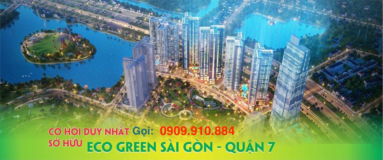 Khu đô thị Eco-Green Saigon quận 7 của Xuân Mai Sài Gòn