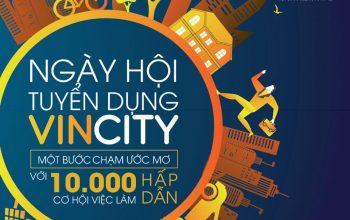 Ngày hội tuyển dụng Vincity: Hàng ngàn chiến binh tham gia phân phối Vincity quận 9