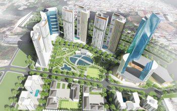 dự án Eco Green Sài Gòn quận 7 mặt tiền đại lộ Nguyễn Văn Linh, P. Tân Thuận Tây, Quận 7.