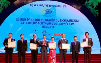 Vinpearl đoạt hàng loạt giải thưởng du lịch Việt Nam năm 2018