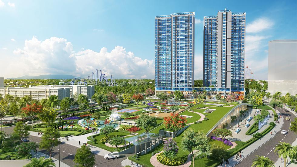 cuộc sống xanh tại khu đô thị Eco Green Sài Gòn