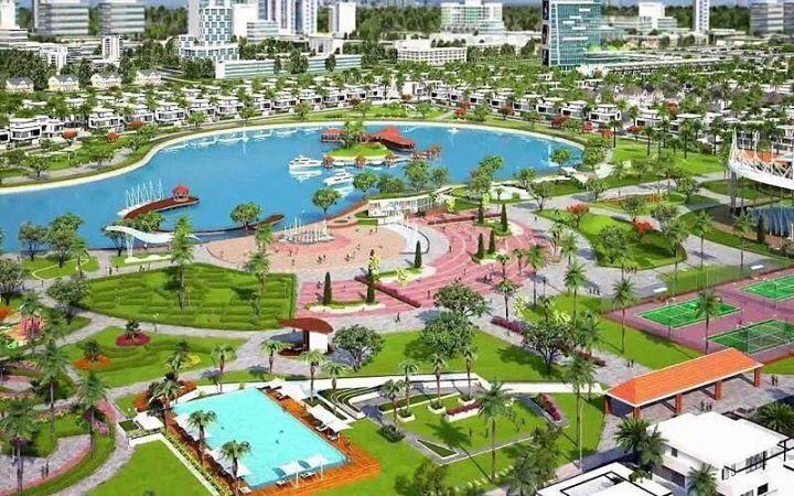 3/4 diện tích Vincity là cây xanh, hồ nước và những công trình xanh công cộng.