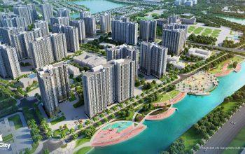 Phối cảnh khu Khu The Park dự án Vincity Ocean Park Gia Lâm của Vingroup.