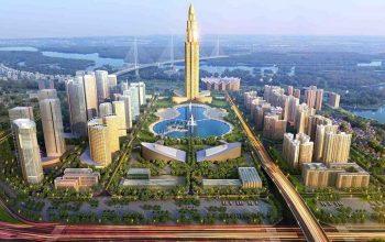 Với 108 tầng, chủ đầu tư cũng khẳng định đây sẽ là tòa tháp cao nhất Việt Nam trong tương lai.