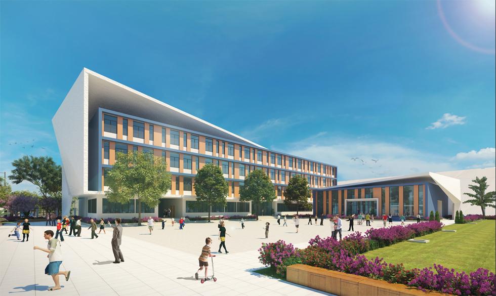 trường học tại eco green saigon quận 7