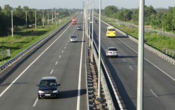 Tuyến đường kết nối từ Khu đô thị Vincity Ocean Park tới cao tốc Hà Nội - Hải Phòng.