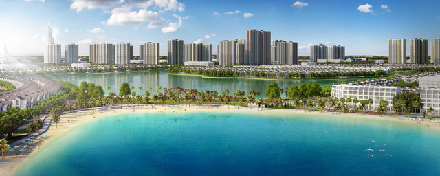 Toàn cảnh khu đô thị VinCity Ocean Park Gia Lâm, Hà Nội của tập đoàn Vingroup