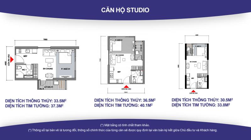 Thiết kế căn hộ VinCity Studio