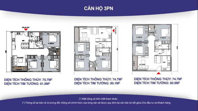 Thiết kế căn hộ VinCity 3 PN