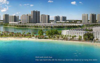 Đại đô thị VinCity có biển nước mặn đầu tiên tại Việt Nam