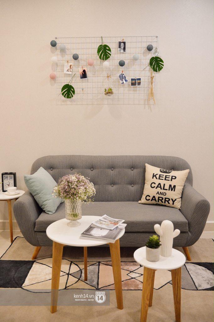 Phòng khách căn hộ studio của VinCity