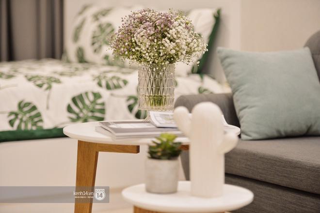 Phòng khách căn hộ studion của VinCity có thể dễ dàng được trang trí trẻ trung nhưng không kém phần hiện đại với những món đồ nội thất cơ bản.