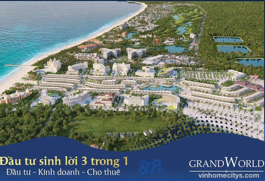 chủ đầu tư New Vision và Vinpearl dự án Grand World Phú Quốc