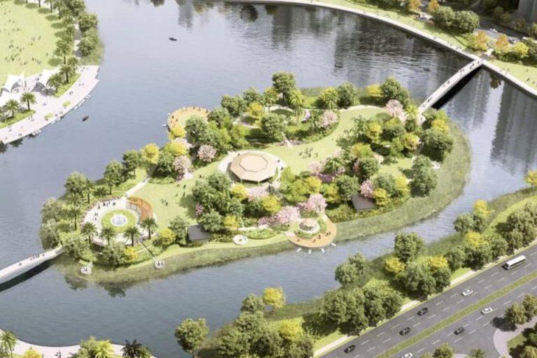 Đảo tình yêu công viên Grand Forest Vinhomes Grand Park quận 9