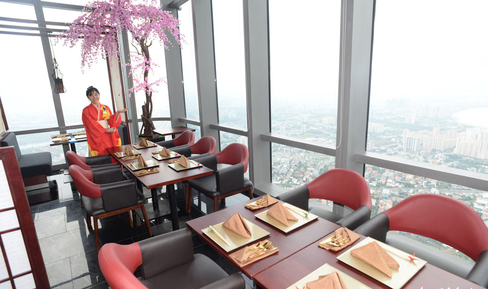 nhà hàng Landmark 81 Skyview,