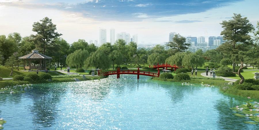 Vườn Vinhomes Smart City