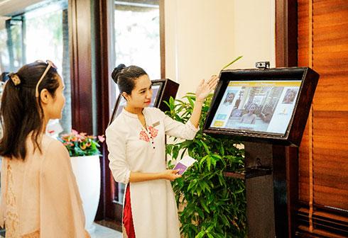 ứng dụng thông minh tại Vinpearl Nha Trang