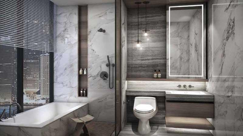 phòng tắm căn hộ Empire