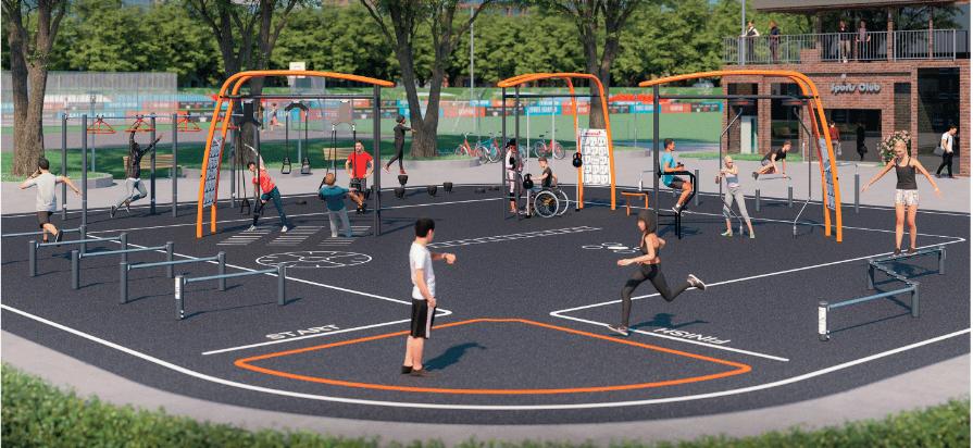Công viên gym vinhomes quận 9