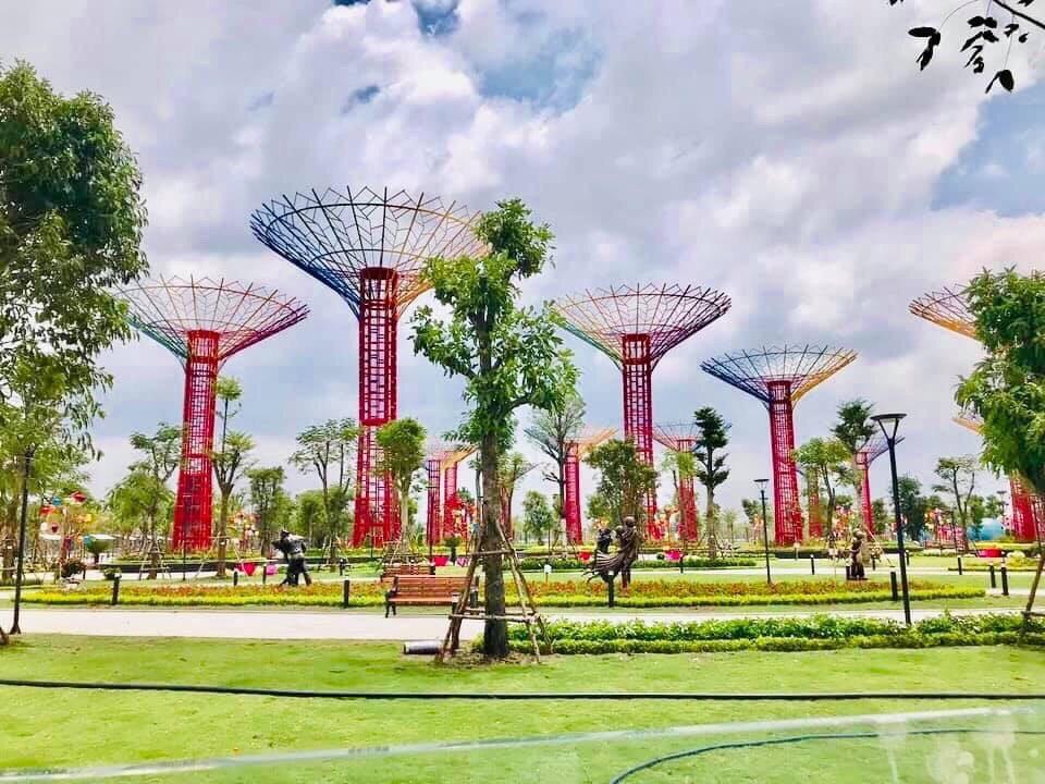 công viên ánh sáng Vinhome Grand Park