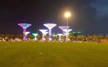 công viên ánh sáng Vinhomes Grand Park