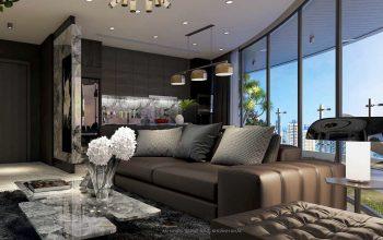 thiết kế căn hộ Sunshine Diamond River