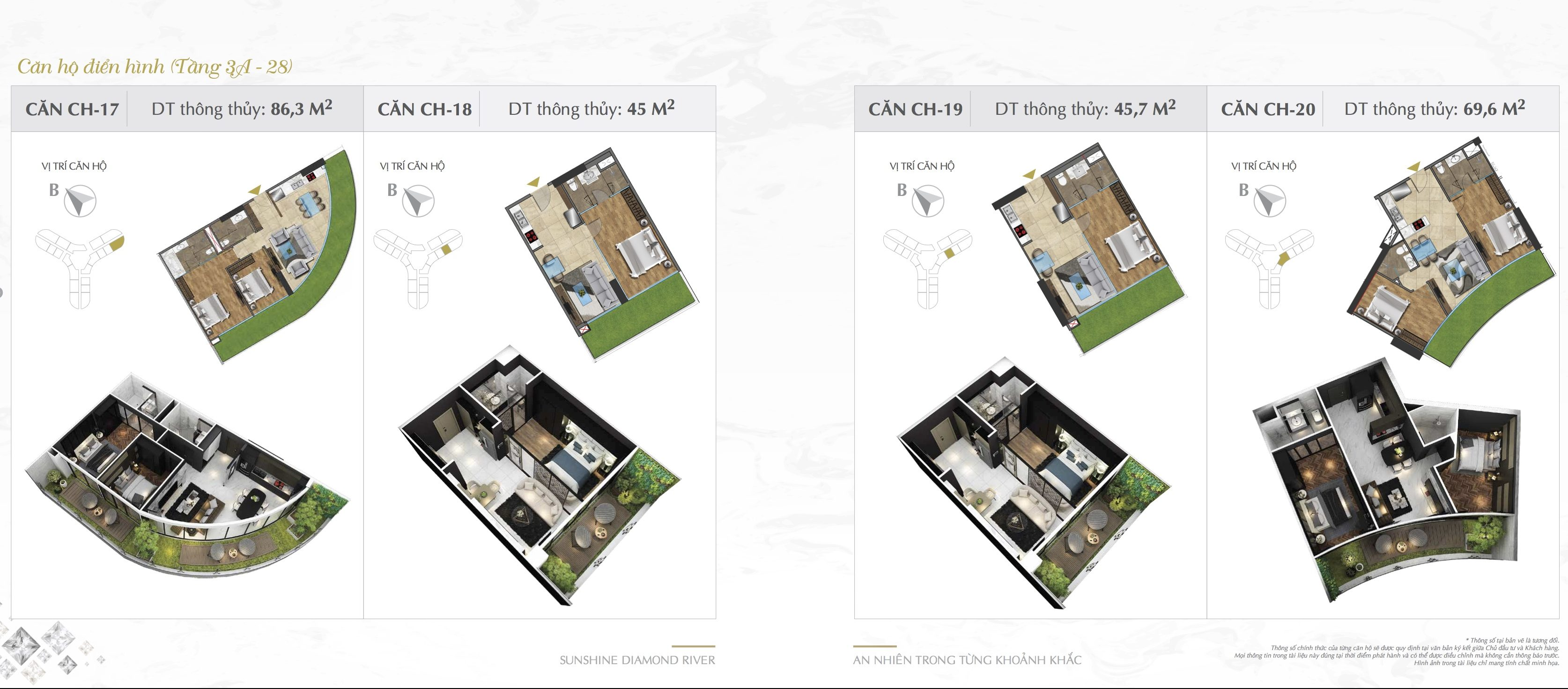 Thiết kế căn hộ Sunshine Diamond River 17-18-19-20
