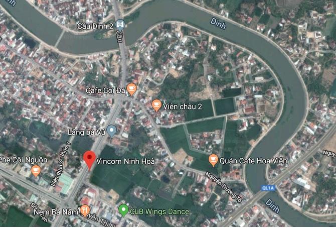 Vị trí Vincom Ninh Hòa