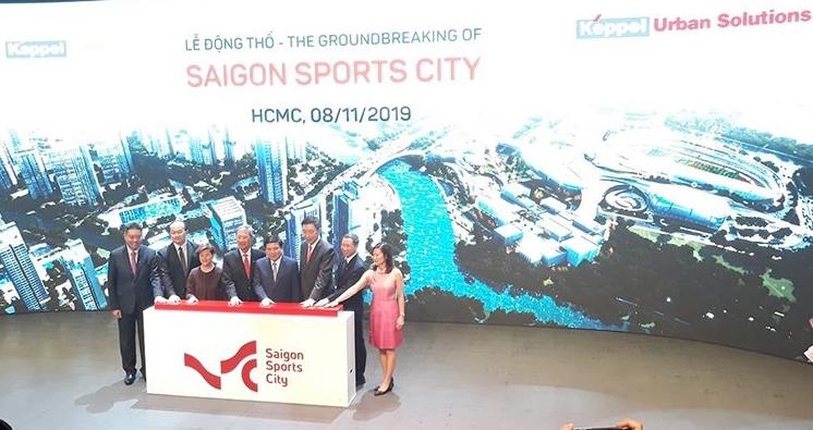 Khởi động dự án Saigon Sports City