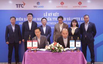 Lotte Land và TTC Land hợp tác đầu tư