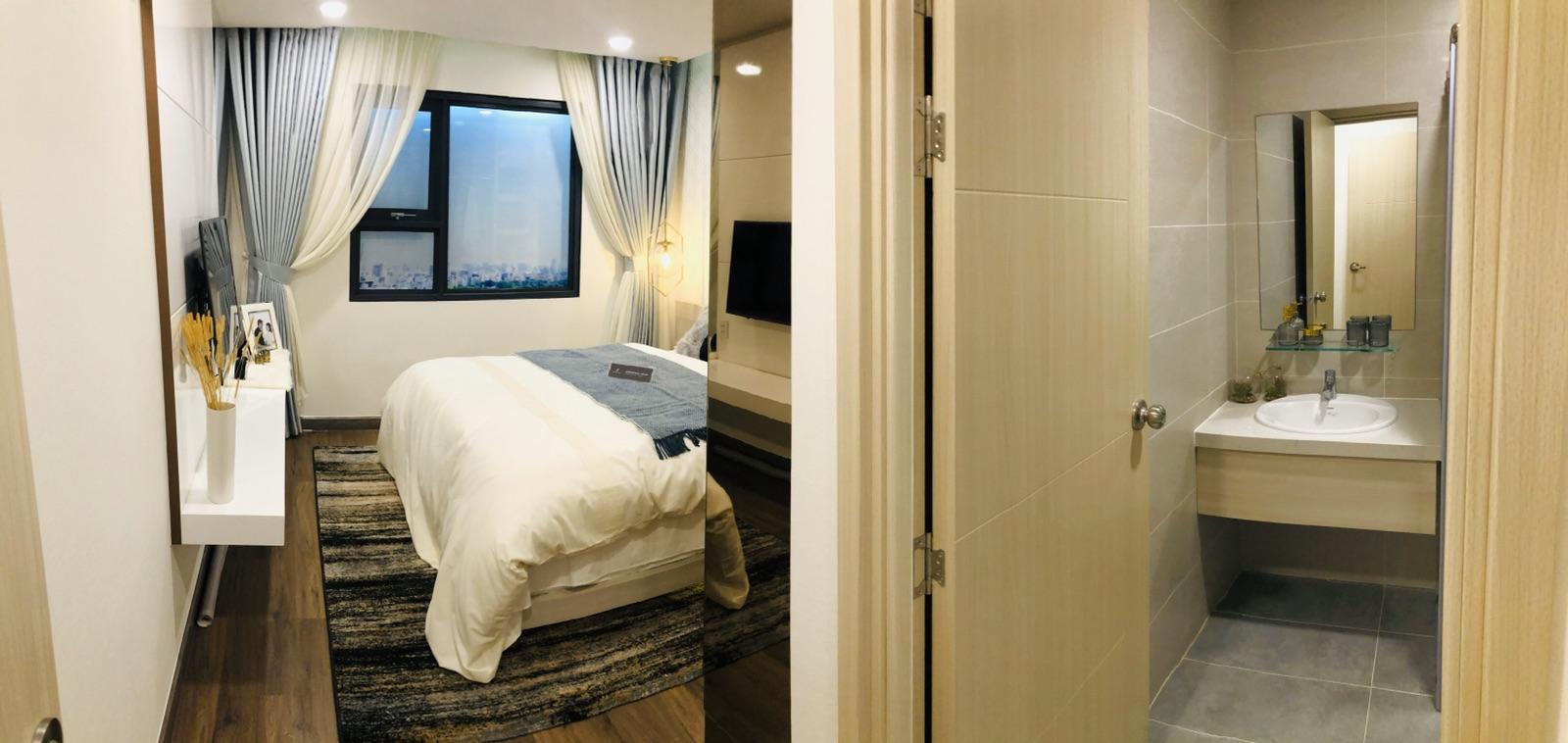phòng ngủ căn hộ La Partenza