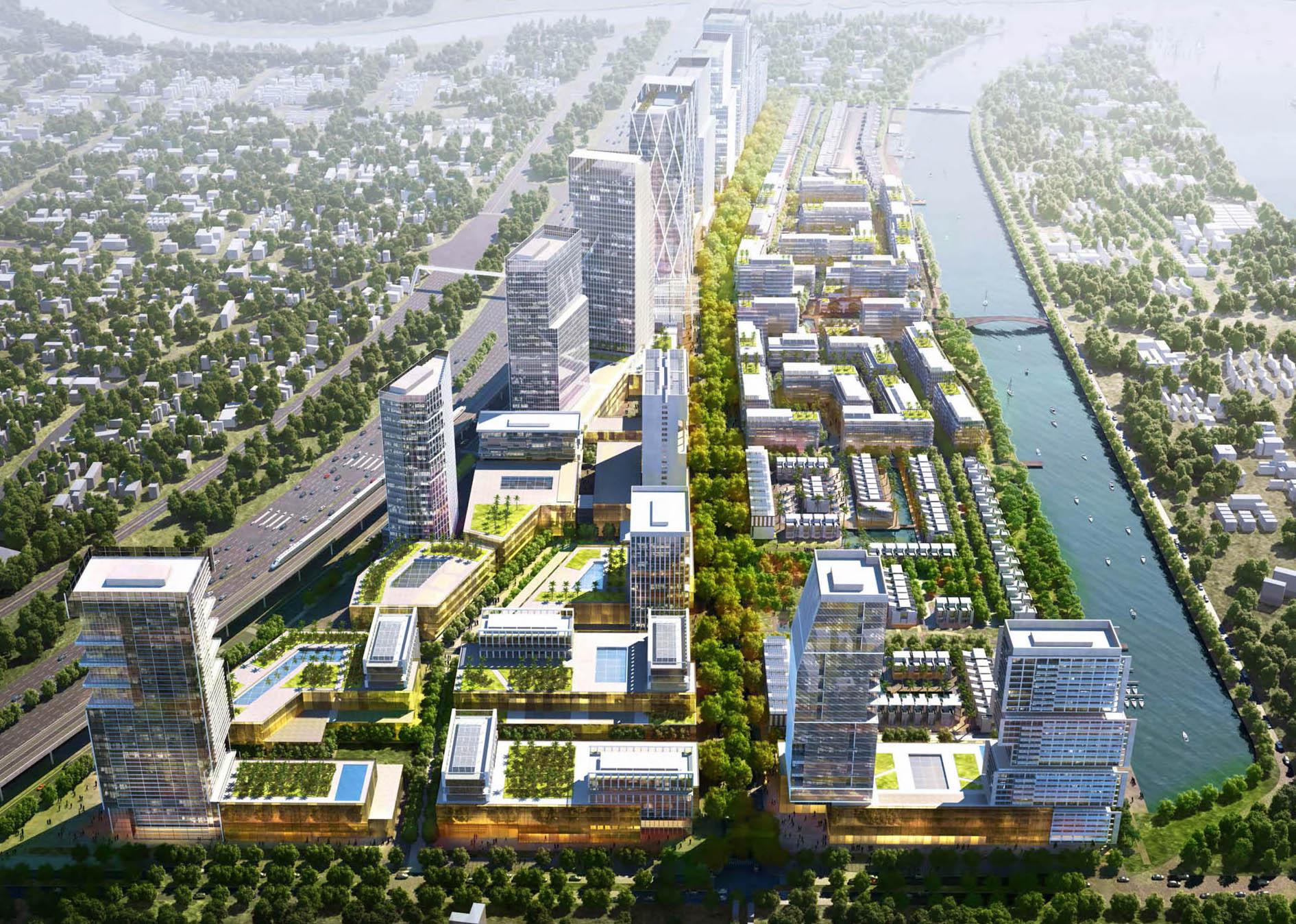 dự án khu đô thị River City Thủ Đức