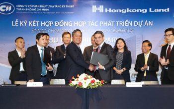 CII hợp tác Hongkong Land