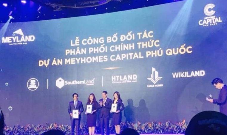 Danh sách đại lý phân phối dự án Meyhomes Capital Phú Quốc