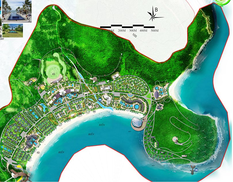 Quy hoạch Dự án Vinpearl Làng Vân Đà Nẵng