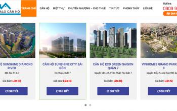 Mua bán bất động sản Online và tư vấn dự án - Alocanhosg.com