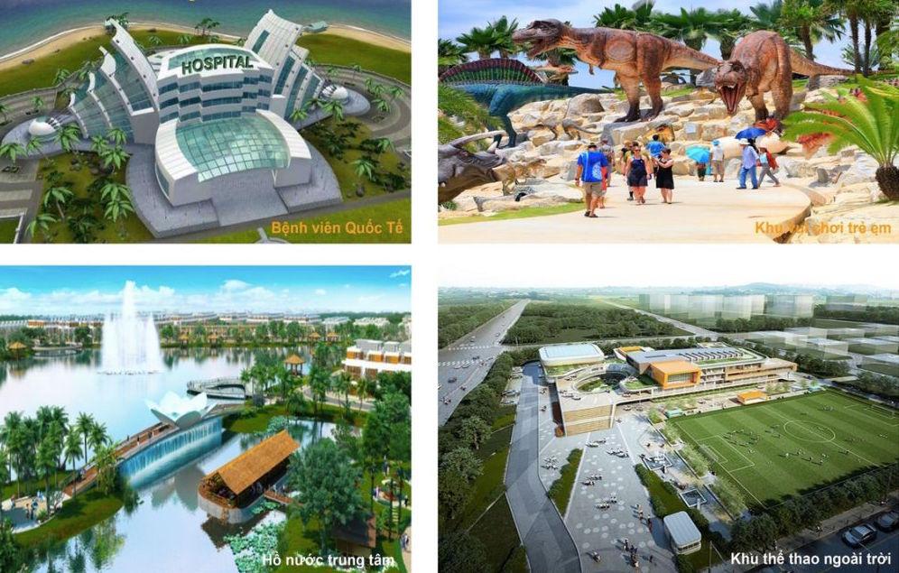 Tiện ích thành phố đảo Meyhomes Capital Phú Quốc