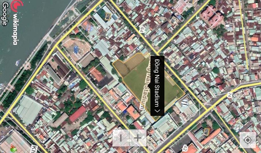 vị trí dự án Vinhomes Biên Hòa