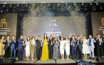 danh sách Giải thưởng Dot Property Vietnam Awards 2020