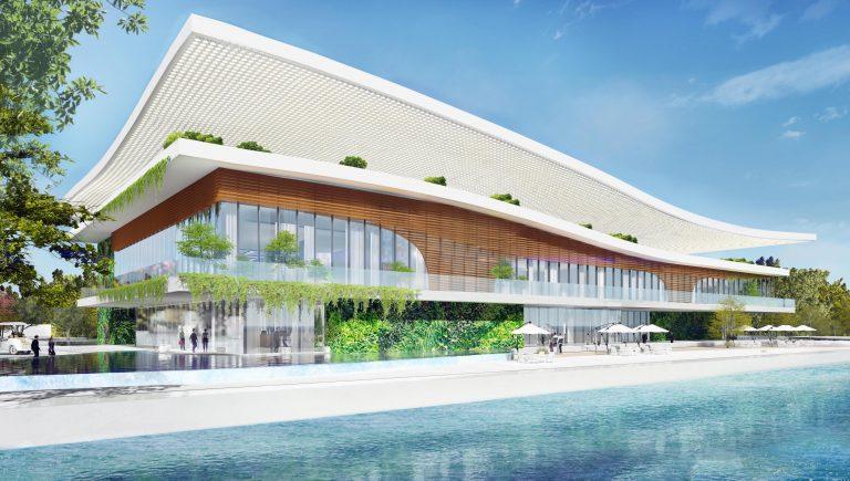 nhà mẫu dự án Angel Island Nhơn Phước của Sông Tiên Corp