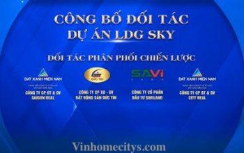 danh sách đối tác đại lý dự án LDG Sky Dĩ An