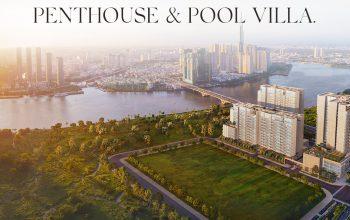 Penthouse & Pool Villa The River Thu Thiem