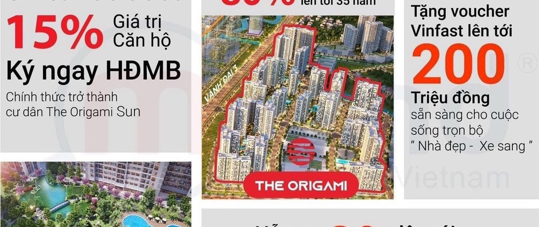 ưu đãi mua căn hộ The Origami Vinhomes Grand Park