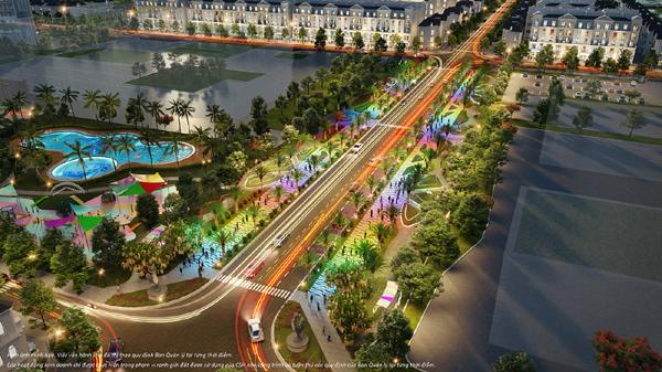 Đại lộ Ánh sáng  Vinhomes Grand Park