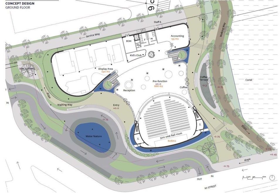Mặt bằng thiết kế khu nhà mẫu dự án HIm Lam City Bình An Quận 2