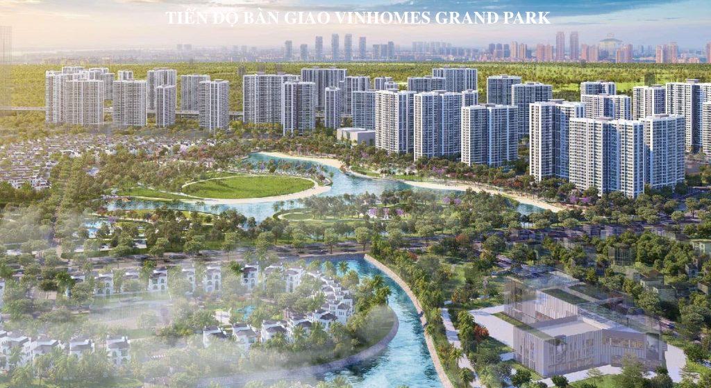 Lộ trình bàn giao tại dự án khu đô thị Vinhomes Grand Park