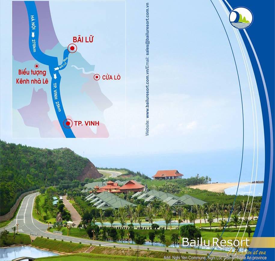 Vị trí bãi Lữ, Nghi Lộc, Nghệ An