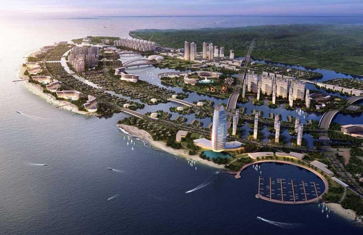 Long Beach Cần Giờ - Dự án khu đô thị du lịch lấn biển của Vingroup