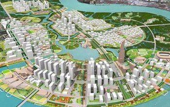 quy hoạch Khu đô thị Thủ Thiêm, quận 2